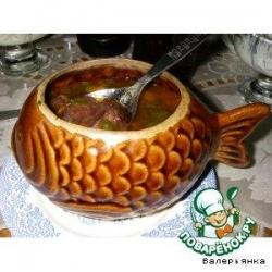 Супчик из судака или щуки