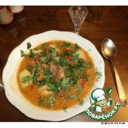 Суп-шурпа по-кавказски