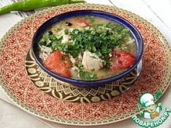 Товук шурпа (куриный суп)