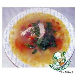 """Молдавский суп """"Зама"""""""