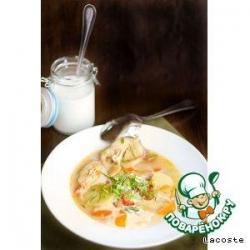 Чилийский суп из конгрио