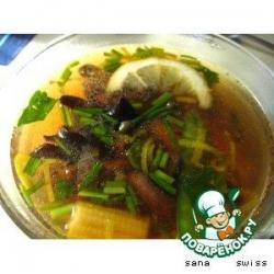 Бульон   китайский   с   грибами