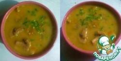Обезжиренный грибной суп-мусс