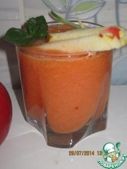 Яблочно-томатный гаспачо