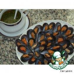 Мидии по рецепту из города Прайя (Mexilhao a Moda da Praia)