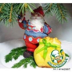 Рождественский лосось в соленом тесте