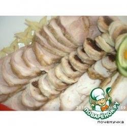 Запеченное куриное филе-