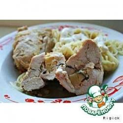 Вкусняшка из курицы с сыром