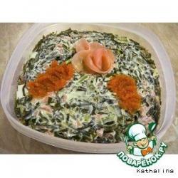 """Салат """"Мотив суши"""""""