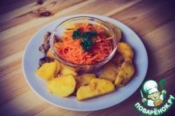 Морковча-морковь по-корейски
