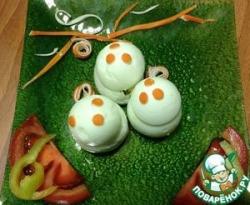 """Фаршированные яйца """" Венецианская безделушка"""""""