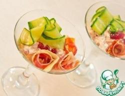 Порционный салат-мусс