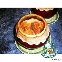 Овощная закуска в горшочке