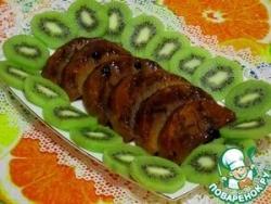 Тыква в пикантной остро-сладкой глазури с дижонской горчицей