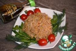 Закуска из соевых ростков в маринаде