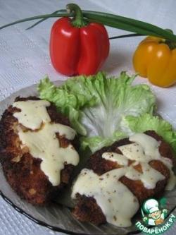 Куриная грудка с сыром
