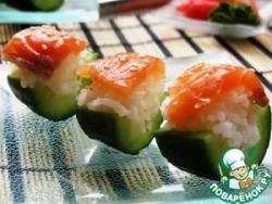 Закуска в стиле суши