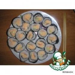 Суши-роллы домашние
