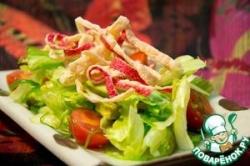 Сурими чипсы и вариант салата с ними
