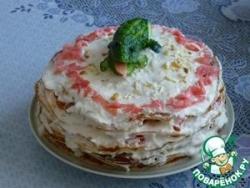 Торт-салат «Крокодил»