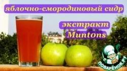 Яблочно-смородиновый сидр. Экстракт-Muntons
