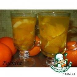 Яблочно-апельсиновый компот