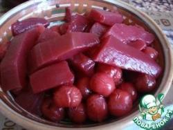 Кабачки со вкусом вишни