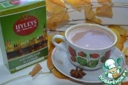 Напиток из зеленого чая с бадьяном и шоколадом