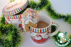 Шоколадное молоко от Санта-Клауса
