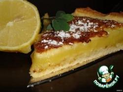 Лимонный пирог Фасон
