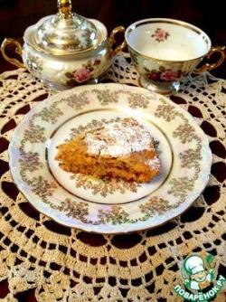 Постный апельсиново-лимонный пирог