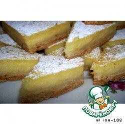 Лимонный пирог № 2