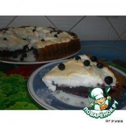 Черничный пирог под