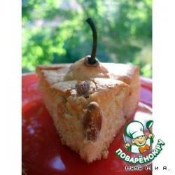 Грушевый бисквит «с хвостиками»