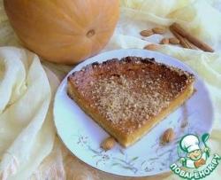 Тыквенный пирог с маскарпоне