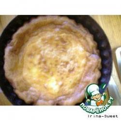 Пирог с грибами и картофелем