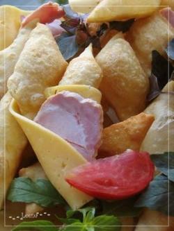 Итальянские соленые пончики