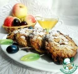 Пончики из яблок в геркулесовой корочке