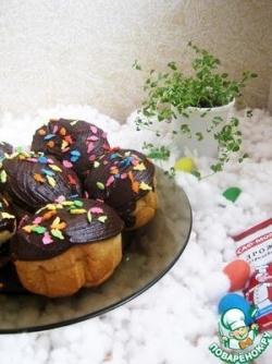Пасхальные пончики с начинкой