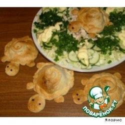 Слойка с овощами