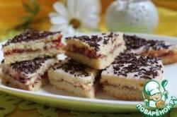 Печенье малиновое