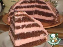 Торт с творожно-зефирным кремом