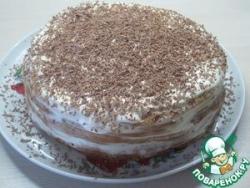 Медовый сметанный торт
