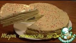 """Диетический торт """"Нежность"""" по Дюкану"""