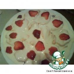 Зефирный десертный тортик