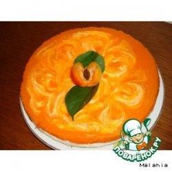 Творожник с абрикосовым пюре