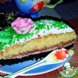 "Торт ""Розовая поляна"""