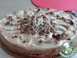 Шоколадно-грушевый торт