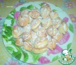 """Творожное печенье """"Ракушки"""" с вареньем"""