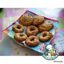 Ореховое печенье из кукурузной муки